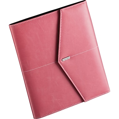 Rolodex® Pink Ribbon Faux Leather Journal