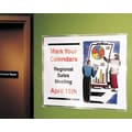 Avery® 74404 Removable Self-Adhesive Display Protector, Clear