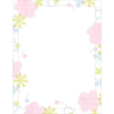 Great Papers® Sweet Blossoms Stationery