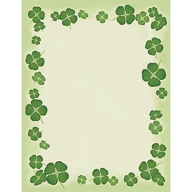 Great Papers® 4 Leaf Clover Stationery, 100/Pack