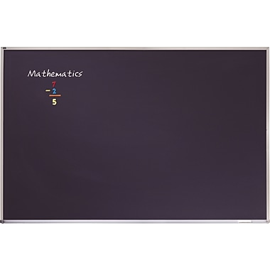 Quartet® Magnetic Chalk Board, 4' x 3'