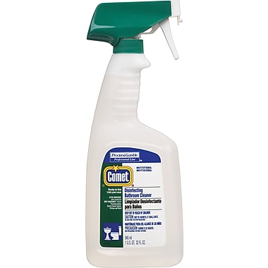 Comet® Spray-on Disinfecting Bathroom Cleaner Spray, 32 oz.