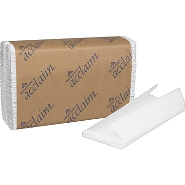 Acclaim® C-Fold Paper Towels, White, 1-Ply, 2,400/Case