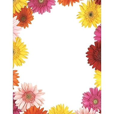Great Papers® Gerbera Daisy Letterhead