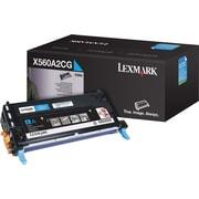 Lexmark™ X560A2CG Toner Cartridge for X560, Cyan