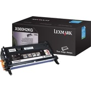 Lexmark X560H2KG Black Toner Cartridge, High Yield