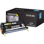 Lexmark X560H2YG Yellow Toner Cartridge, High Yield