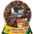 Crayola® 52-0029 Telescoping Crayon Tower, Assorted, 150/Pack