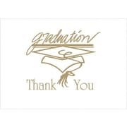Great Papers® Graduation Thank You Cards, Gold