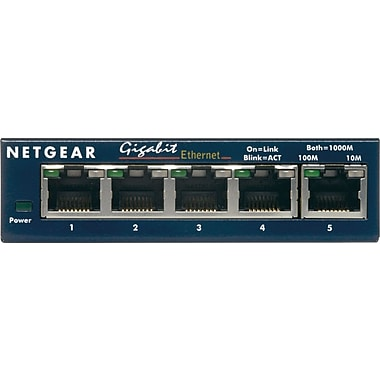 NETGEAR ProSAFE GS105NA 5-Port Gigabit Ethernet Desktop Switch