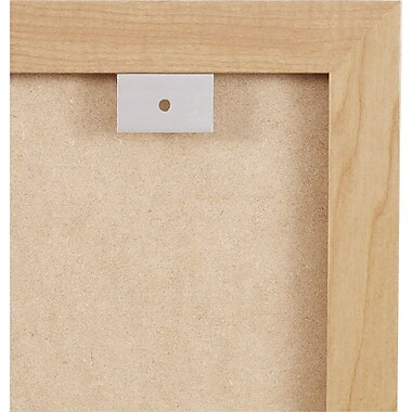 Quartet, 4'W x 3'H, Melamine Dry-Erase and Cork Board Combination with Oak Finish Frame (S554)