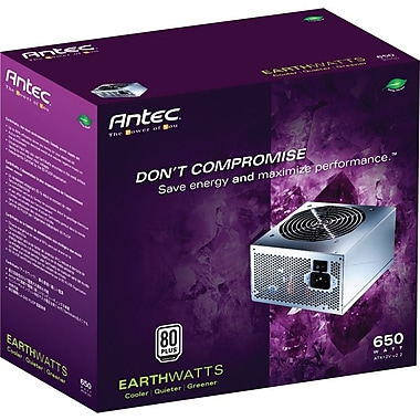 Antec EarthWatts 650 Watts Power Supply