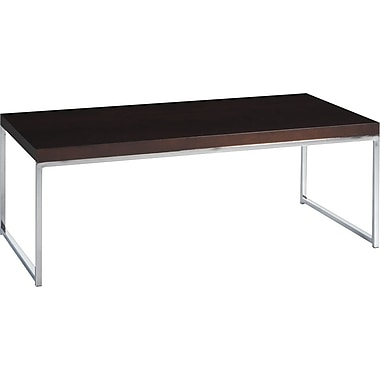 Avenue Six Wall Street Coffee Table, Espresso