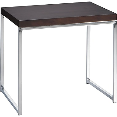 Avenue Six Wall Street End Table, Espresso