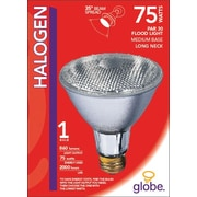 Globe PAR30 Halogen Flood Light, 75W, Clear