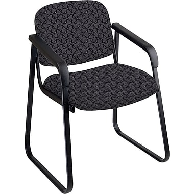 Office Star™ Custom Sled Base Guest Chair with Arms, Ash
