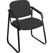Office Star™ Custom Sled Base Guest Chair with Arms, Shale