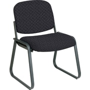 Office Star™ Custom Sled Base Armless Guest Chair, Ash