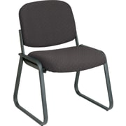 Office Star™ Custom Sled Base Armless Guest Chair, Shale