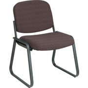 Office Star™ Custom Sled Base Armless Guest Chair, Taupe