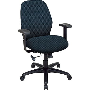 Office Star™ 2-to-1 Custom Manager's Chair, Blue Galaxy