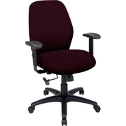 Office Star™ 2-to-1 Custom Manager's Chair, Ruby
