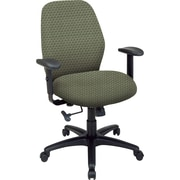 Office Star™ 2-to-1 Custom Manager's Chair, Moss