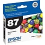 Epson 87 Photo Black Ink Cartridge (T087120)