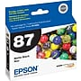 Epson 87 Matte Black Ink Cartridge (T087820)