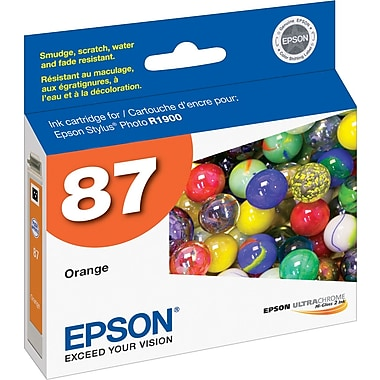 Epson® 87 (T087920) Orange Ink Cartridge