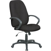 Office Star™ Custom High-Back Executive Chair, Shale