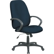 Office Star™ Custom High-Back Executive Chair, Blue Galaxy