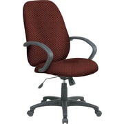 Office Star™ Fabric Executive Office Chair, Wine, Fixed Arm (EX2654-298)
