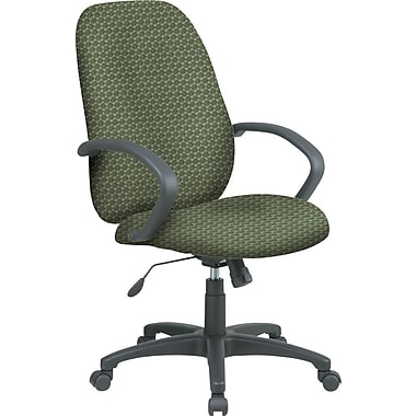 Office Star™ Custom High-Back Executive Chair, Moss