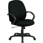 Office Star™ Custom Distinctive Fabric Conference Room Chair, Jet