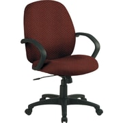 Office Star™ Custom Distinctive Fabric Conference Room Chair, Wine