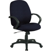 Office Star™ Custom Distinctive Fabric Conference Room Chair, Midnight Blue