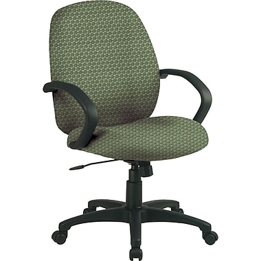 Office Star™ Custom Distinctive Fabric Conference Room Chair, Moss