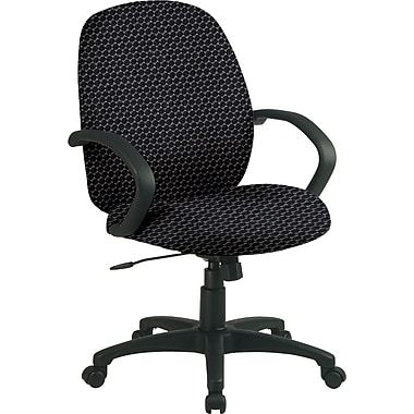 Office Star™ Custom Distinctive Fabric Conference Room Chair, Graphite