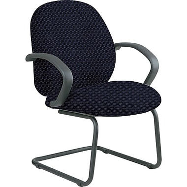 Office Star™ Custom Fabric Guest Chair, Midnight Blue