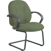 Office Star™ Custom Fabric Guest Chair, Moss