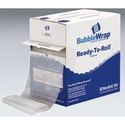 Bubble Wrap Bubble Rolls in Dispenser Box, 12 x 100', 5/16 bubble