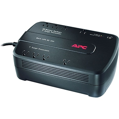 APC Back-UPS® ES 550VA 8-Outlet Power-Saving UPS (BE550G)