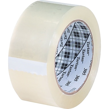 Scotch® #302 Acrylic Packaging Tape, 3in.x110 yds., 24/Case