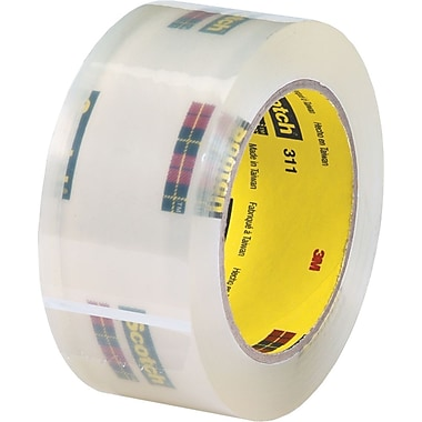 Scotch® #311 Acrylic Packaging Tape, 3in.x110 yds., 24/Case