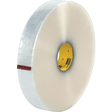 Scotch® #375 Hot Melt Packaging Tape, 2in.x1000 yds., Clear, 6/Case