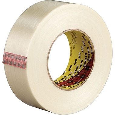 Scotch® #890 Filament Tape, 1in.x60 yds., Black