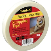 "Scotch Heavy Duty Strapping Tape, 3/4"" x 60 yds, 1/Pack"