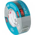 3M™ 3939 Silver Duct Tape, 2in. x 60 yds., 3 Rolls/Case