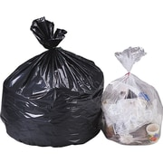 Heavy Weight Trash Liners, Black